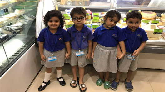 Jr. Kg and Nursery Class went for Feild Trip – SUPERMARKET